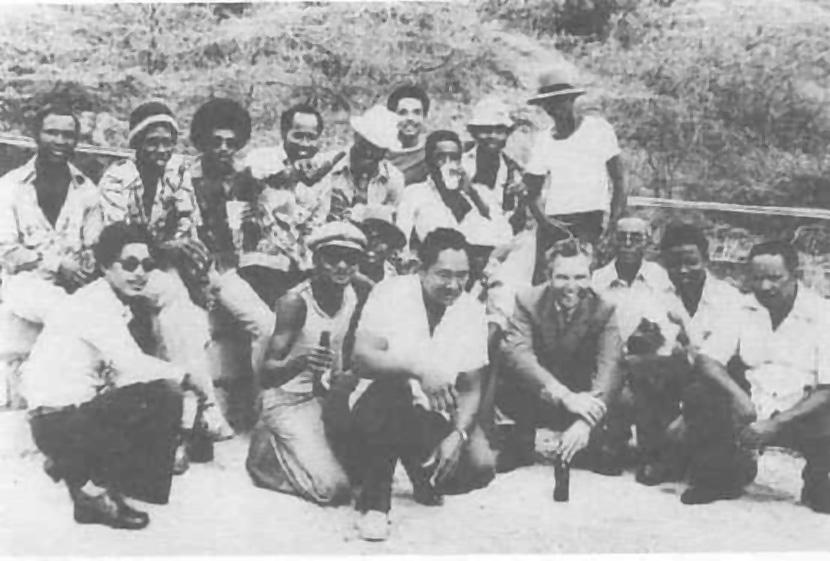 werknemers betonbouw curacao 1975